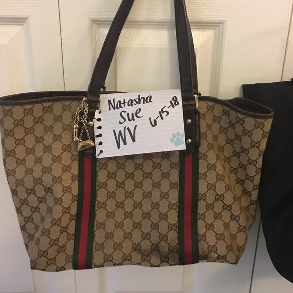 aca297d73610 Gucci Bags   Authentic Large Jolicoeur Tote Handbag   Poshmark
